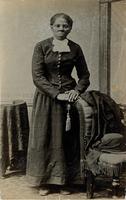 Matte collodion print of Harriet Tubman
